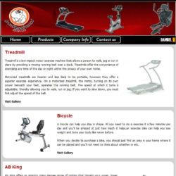 Profitness Co. website